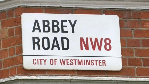 """Der berühmteste Zebrastreifen der Welt - 50 Jahre """"Abbey Road""""-Albumcover"""