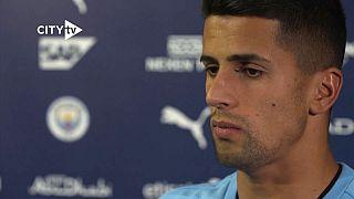 João Cancelo no Manchester City