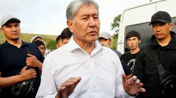 Yolsuzlukla suçlanan eski Kırgızistan Cumhurbaşkanı Atambayev gözaltına alındı