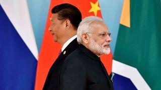 Hindistan Başbakanı Narendra Modi / Çin Devlet Başkanı Şi Cinping