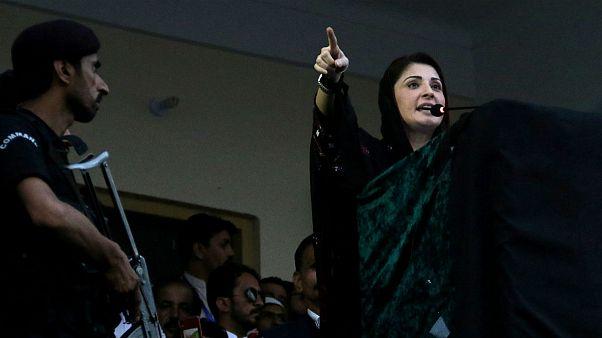 مریم نواز از رهبران مسلم لیگ و دختر نخست وزیر پیشین پاکستان دستگیر شد