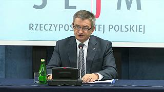Kuchcinski had tried to explain his trips on his official website
