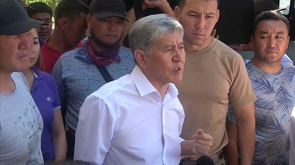 Viele Verletzte bei Festnahme von Kirgistans Ex-Präsident