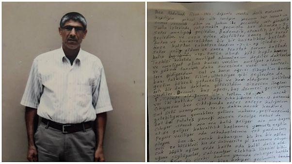 Özel   Cezaevinden mektuplar yazı dizisi - 8: Hasta hükümlü Abdulkadir Aksu