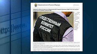 Autoridades russas congelam contas da fundação de Navalny