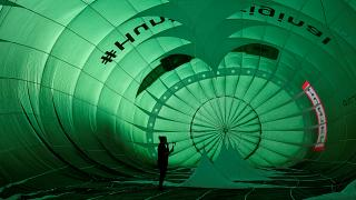Full of hot air: Europe's biggest ballooning event gets underway