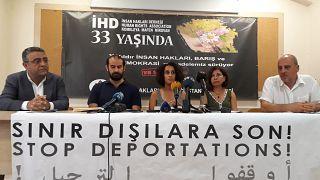 """Birlikte Yaşamak İstiyoruz İnisiyatifi, """"Sınır Dışıların İki Haftası"""" adlı raporunu paylaştı"""