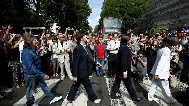Das berühmte Abbey-Road-Foto der Beatles wird 50