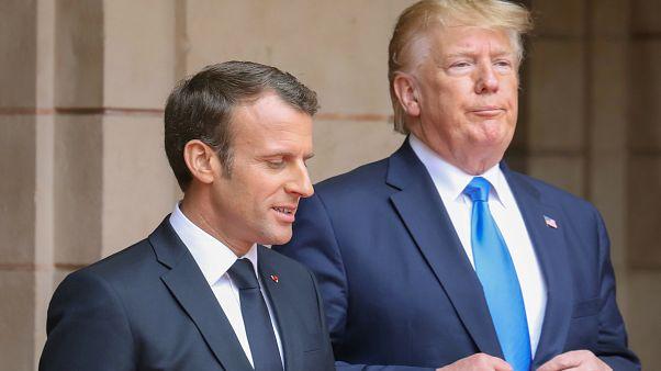 Trump'tan Macron'a 'İran' resti: Kimsenin ABD adına konuşma yetkisi yok
