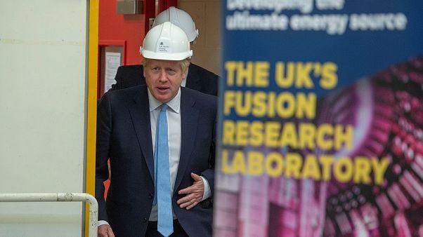 Lavori in corso, per Boris Johnson.