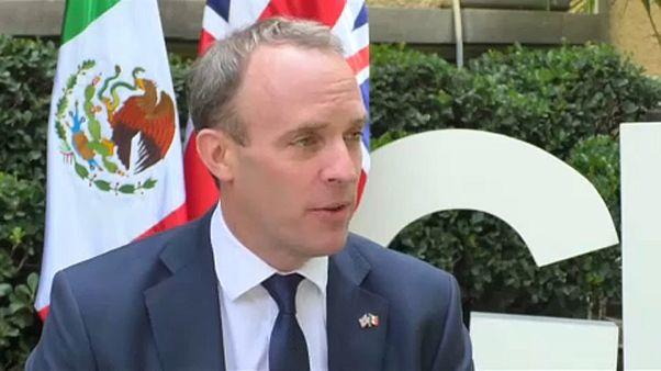 """Britische Regierung: """"Backstop muss entfernt werden"""""""