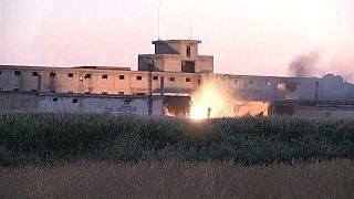 В Турции на складе боеприпасов произошел взрыв