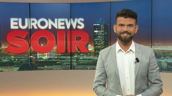 Euronews Soir : le journal du vendredi 9 août