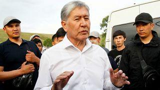 دادگاه قرقیزستان حکم بازداشت موقت رئیس جمهوری پیشین را صادر کرد