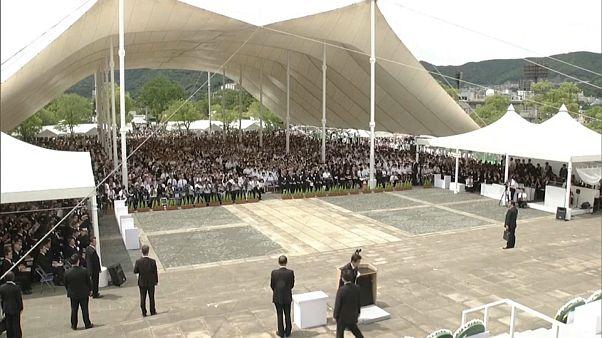 Nagazaki'ye atılan atom bombasından 74 yıl sonra Japonya'dan 'nükleer silahsızlanma' çağrısı