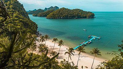 Mu Ko Ang Thong National Park - a beach in Thailand