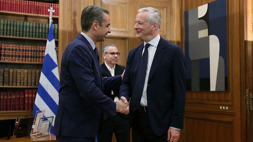 Στην Αθήνα ο Γάλλος υπουργός Οικονομικών