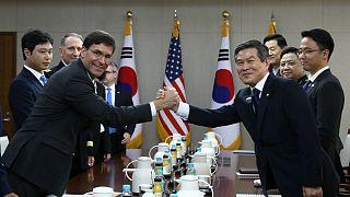 وزیر دفاع آمریکا از کره جنوبی خواست به ائتلاف نظامی در خلیج فارس بپیوندد
