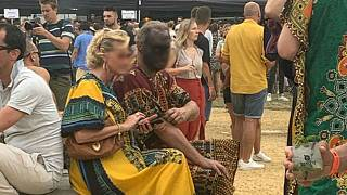Party in Belgium criticised after guest pictured wearing 'blackface'