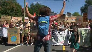 Los jóvenes activistas por el clima preparan el futuro en Lausana