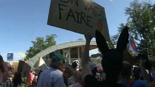 Besserer Umweltschutz: Jugendliche Kundgebung in Lausanne