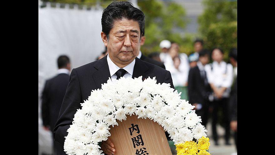 Nagasaki comemora 74.º aniversário do ataque nuclear dos EUA