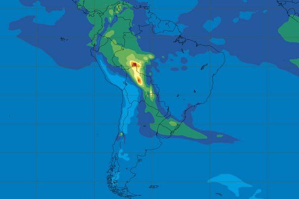 Copernicus Atmposphere Monitoring Service / MODIS