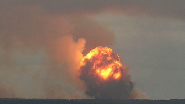 Новые взрывы под Ачинском: пострадали около 10 человек