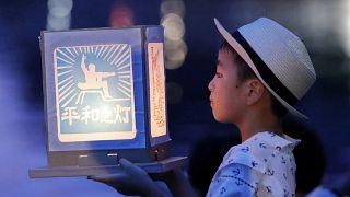 Nagasaki si è fermata per commemorare le vittime della bomba atomica