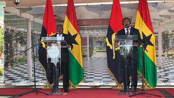 Angola e Gana reforçam acordos de amizade e cooperação