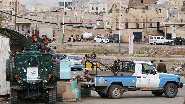 قوات تابعة لجماعة الحوثي