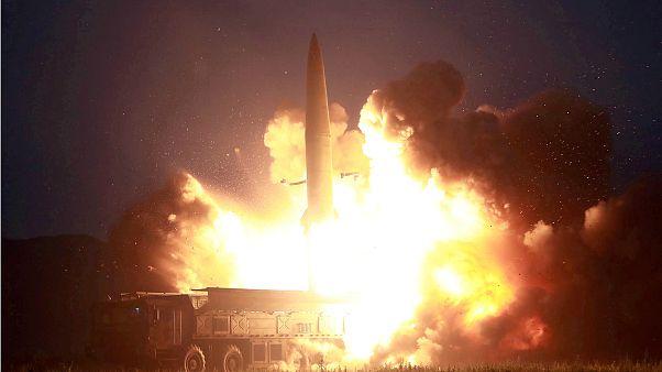 کره شمالی دو موشک «بالستیک کوتاه برد» به سمت دریا شلیک کرد
