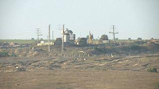 مرز نوار غزه