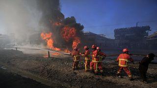 ضحايا انفجار صهريج الوقود في تنزاينا يرتفع إلى 69 قتيلا ودار السلام تحد ثلاثة أيام