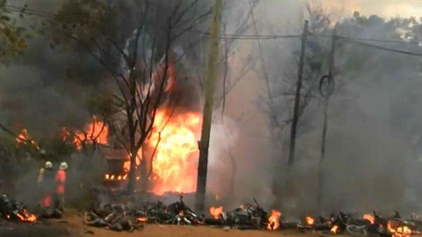 دست کم  ۵۷ نفر در پی انفجار کامیون حامل سوخت در تانزانیا جان باختند