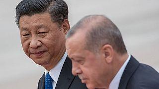 Çin Devlet Başkanı Şi Cinping / Cumhurbaşkanı Erdoğan