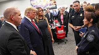 بازدید دونالد ترامپ از ال پاسو پس از حادثه تیراندازی