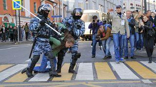 Новые протесты и задержания