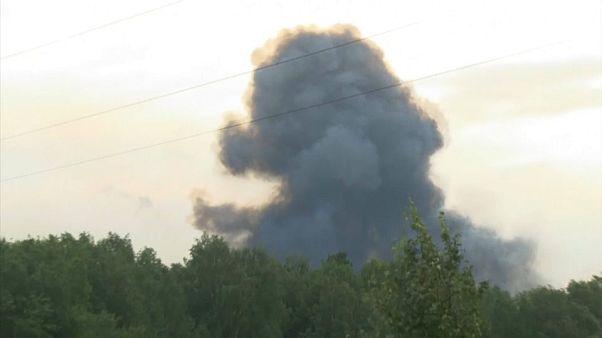 الإنفجار الذي حدث في قاعدة نيونوكسا بالقرب من سيبيريا
