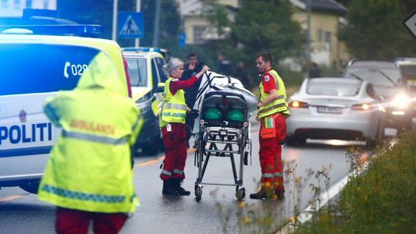Un hombre herido tras un tiroteo en una mezquita de Oslo en Noruega