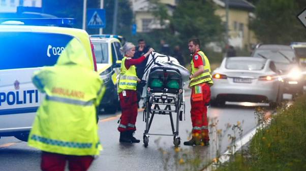 Ataque numa mesquita da Noruega