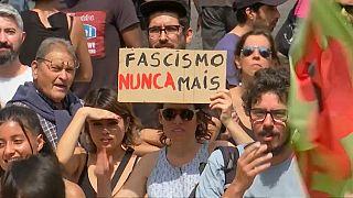 """""""Mai più fascismo""""."""