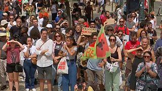 Lisszabon: szélsőjobbos tanácskozás gyér részvétellel