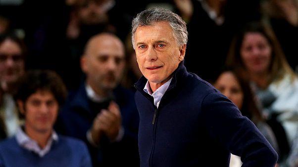 Argentines head to polls for primary in first Macri, Fernandez showdown