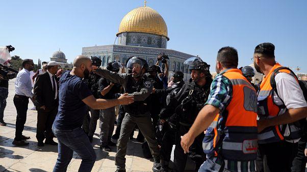 На Храмовой горе произошли стычки между мусульманами и полицией