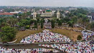 صلاة عيد الأضحى في إندونيسيا