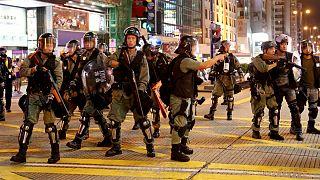 دهمین هفته اعتراض ها در هنگ کنگ