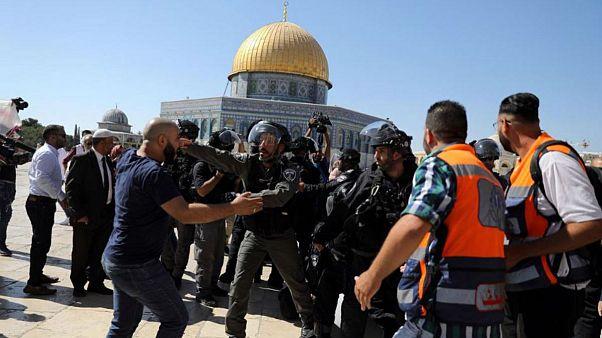 تنش در نماز عید قربان؛ ۱۴ فلسطینی در درگیری با نیروهای اسرائیلی مجروح شدند