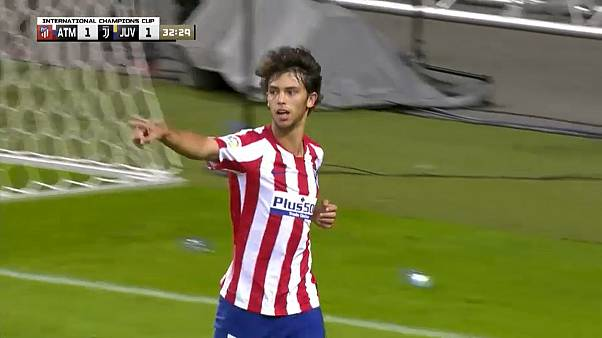 Calcio: Atletico Madrid, una perla di João Felix stende la Juve