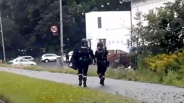 Norwegen: Polizei stuft Angriff auf Moschee als Terror ein